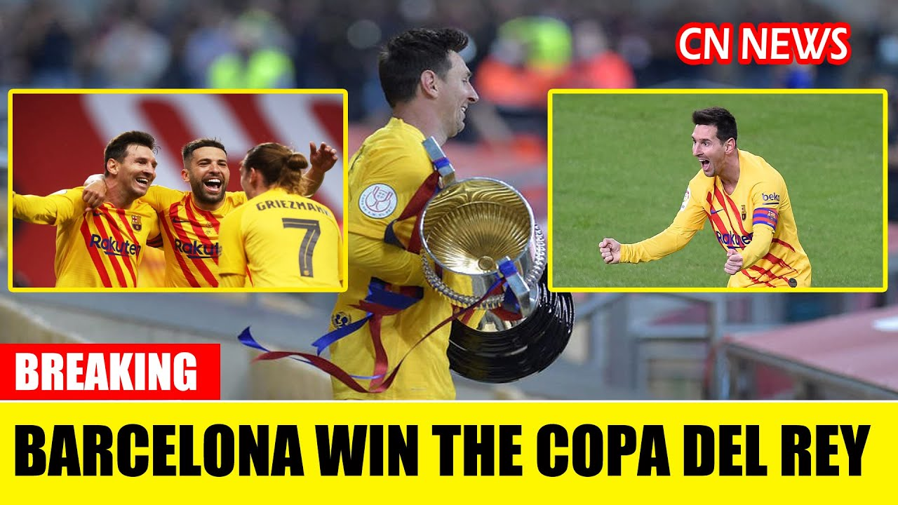 Barcelona's Copa del Rey title 'really special' - Messi
