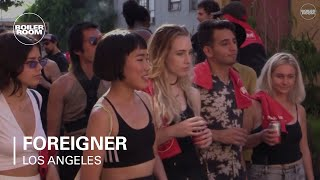 Foreigner Boiler Room Los Angeles DJ Set