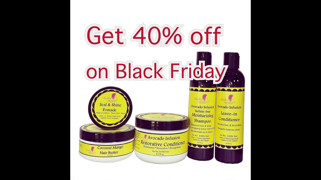 Black Friday Sale (KINKY TRESSES)