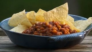 Juicy, Sticky And So Good, Pulled Pork And Beans – On The Bbq!