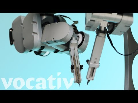 A Robot Successfully Performed One Of The Most Difficult Surgeries