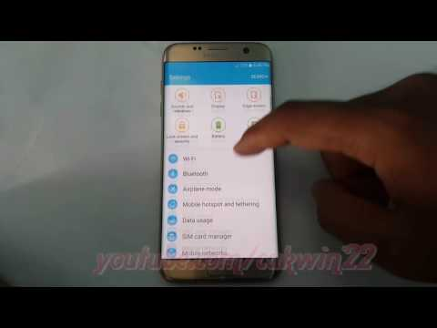 Samsung Galaxy S7 Edge How To Show Or Hide System Apps In Application Manager