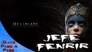 Video de Hellblade Senua's Sacrifice   Combate contra el jefe Fenrir   Trofeo: Tamed the Beast