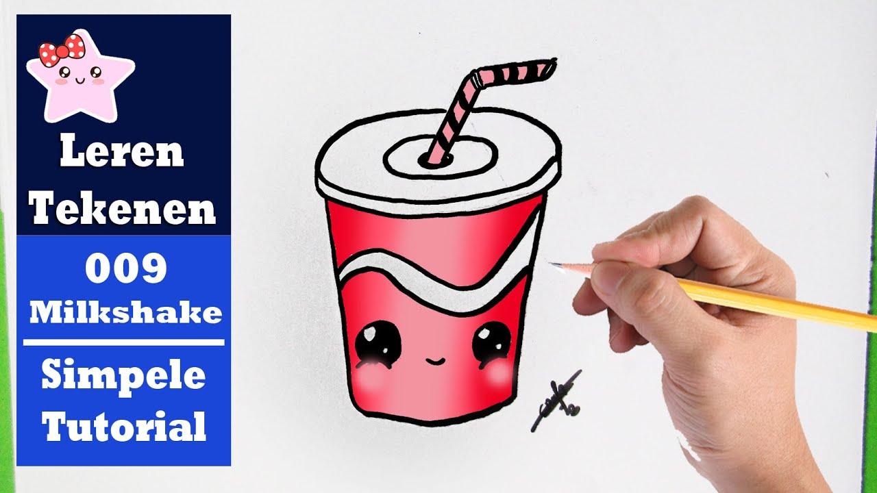 Diy Hoe Teken Je Een Milkshake Kawaii Beginners