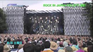 YUI - ROCK IN JAPAN 2011 - JCD