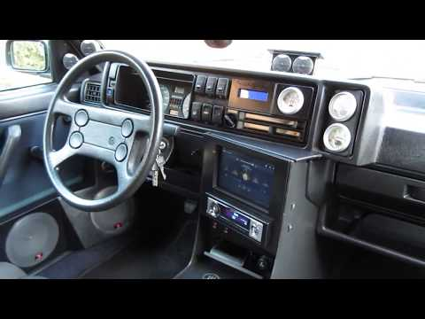 Golf 2 interior styling