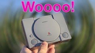 Playing the PlayStation Classic & Unboxing Review WOOOOOOOOOO!