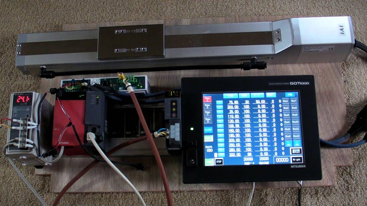 三菱QシーケンサでIAI PCON CC-Link ラ...