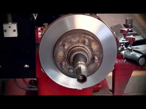 Brake Lathe -- Resurface Disc Rotors and Brake Drums with Ranger BendPak