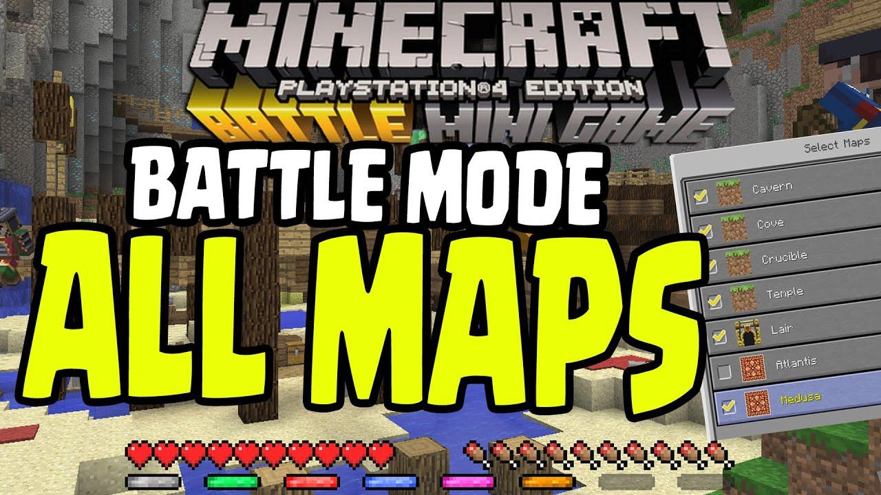 Minecraft Mini Game Maps Ps Bollaco - Maps fur minecraft wii u