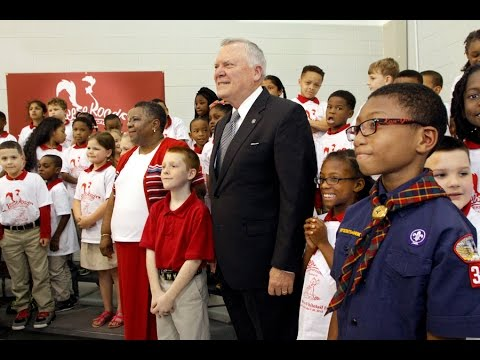 Gov. Nathan Deal at Reese Road Leadership Academy