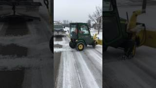 John Deere X739 snow blower.