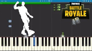 Fortnite Hype - Piano Tutorial - Hype Dance Emote