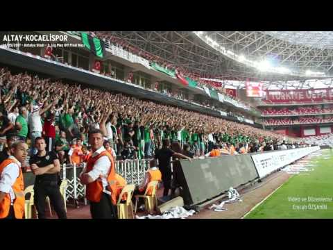 Altay - Kocaelispor | Tribün Klibi (Play Off Finali) | Emrah Özşahin
