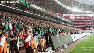Altay - Kocaelispor | Tribün Klibi (Play Off Finali)