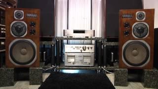 Black Sabbath - Iron Man on Yamaha NS-1000M  oldplayer