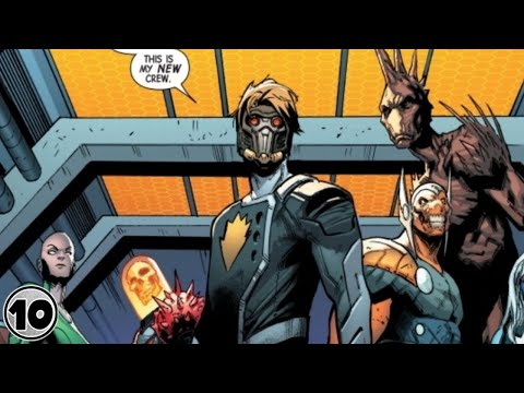 Top 10 Newest Guardians Of The Galaxy