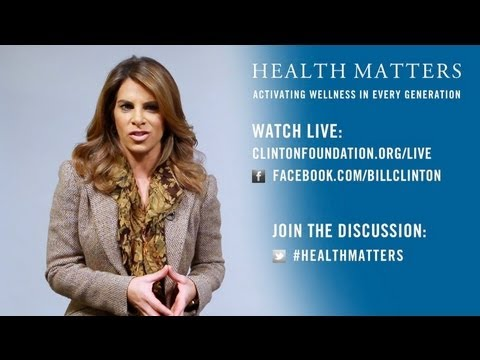Jillian Michaels at the First Health Matters