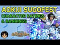 Unit Ratings & Reviews - Aokiji / Whitebeard Part 3 Sugofest [One Piece Treasure Cruise]