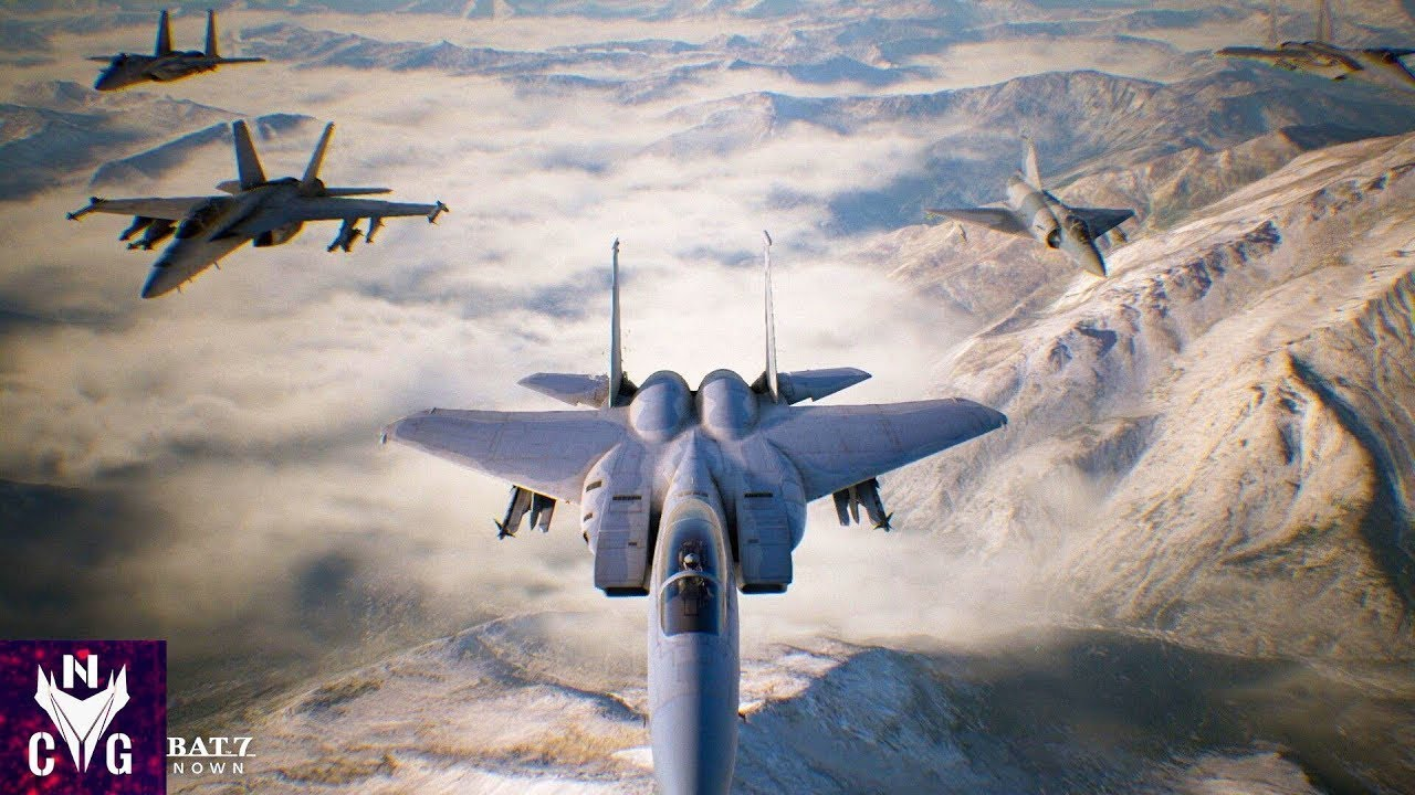 Ace Combat Mission 7 GAMEPLAY #2 (PART-8) - FREE TO USE 4K 60 FPS