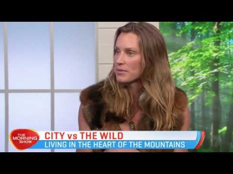 Miriam Lancewood in The Morning Show Australia - The daily life of a nomad