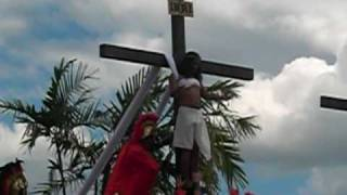 San Fernando, Pampanga, Philippines - Crucifixion Rite