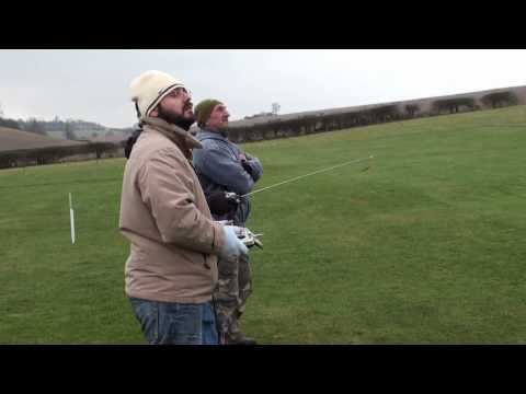 Learning to fly RC plane @ PADMAC club Portsmouth