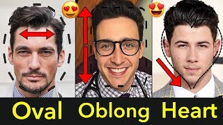 The Best Men's Hairstyles Guide for Long, Non-Chiseled, Round Faces | Oval, Oblong, Heart Face Shape