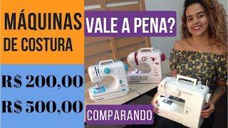 Máquinas de costuras de R$ 200,00 a R$499,00 Alana Santos Blogger