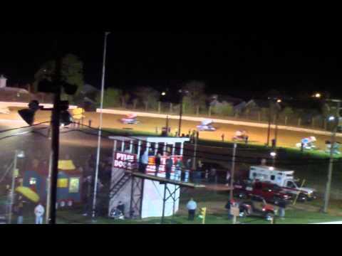 Port Royal Speedway All Star Sprint Car Highlights 4-27-13