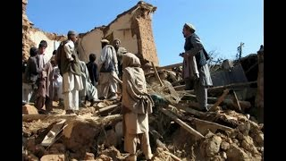 Afghanistan earthquake shakes major cities