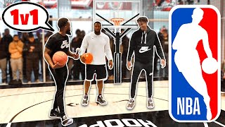 1vs1 Basketball Challenges w/ NBA Rookie Ja Morant!