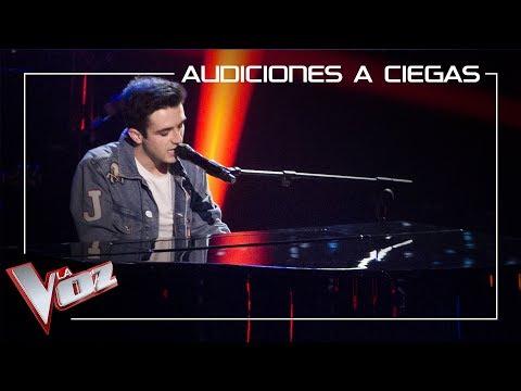 Javier Erro canta 'A million dreams' | Audiciones a ciegas | La Voz Antena 3 2019