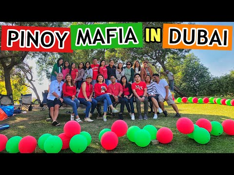 CHRISTMAS PARTY 2019 AT DUBAI CREEK WITH AIRFSWIFTIES PINOY MAFIA || IRISH AYZ (DUBAI VLOGS)