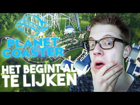 HET BEGINT AL TE LIJKEN! - Planet Coaster #3