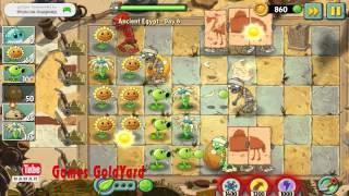 Растения против зомби 2 Египет прохождение 6 уровень используем Салат Айсберг