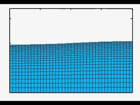 2D Nonlinear Sloshing response in  Resonance