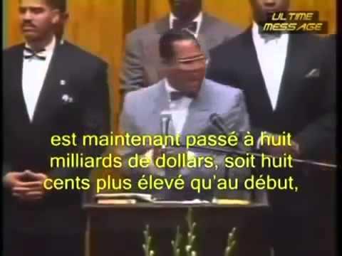 Louis Farrakhan parle des Rothschild (1995)