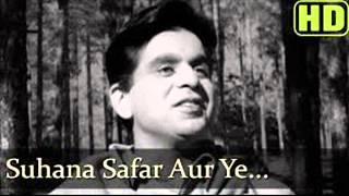 Suhana Safar Aur Ye Mausam Haseen from Madumathi