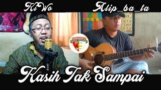 Download Lagu Kasih Tak Sampai - Padi [ LIRIK ] Fingerstyle Cover Alip_ba_ta feat KiWo ( NRM Audio ) mp3