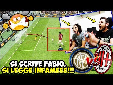 [🤬🤬🤬] FABIO SEI IL SOLITO INFAMEEE!!! Inter-Milan [Pes 2019]