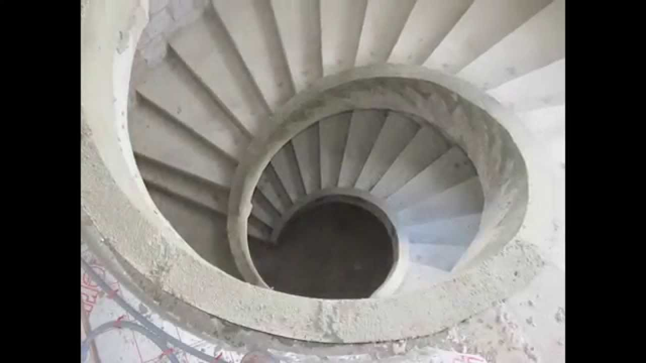 Concrete Spiral Stairs Youtube