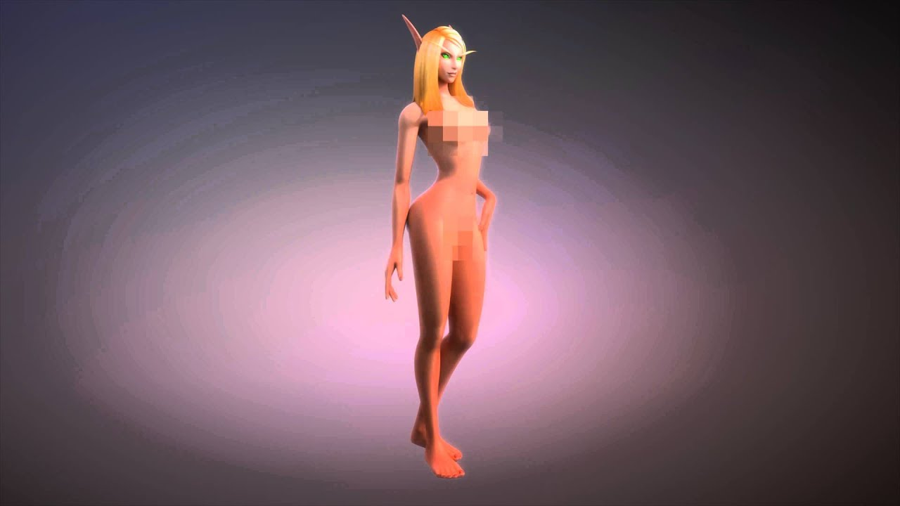 3d animated elf nude movies
