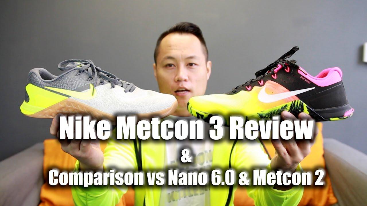 nueva llegada atarse en Precio 50% Nike Metcon 3 Review v.s. Metcon 2 & Nano 6.0