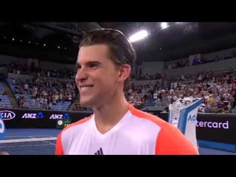 Thumbnail: Thiem R2 on court interview - not sure where he is in the draw