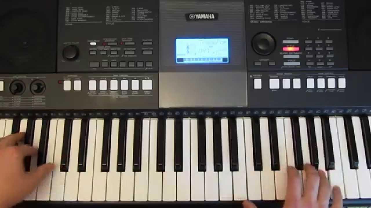 Упрощенные Аккорды В Синтезаторе Yamaha Psr E423 mp3