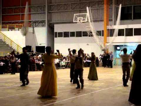 Sarrabalho Dança Folclórica Do Rio Grande Do Sul Youtube