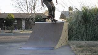 Rpo 3' Driveway Quarter Pipe By Ramp Plans Online 2010 Free Ramp Plans!