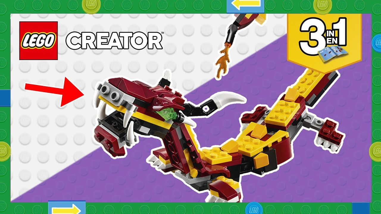 Secret Lego Build Instructions The Snake From The Lego Creator 3in1
