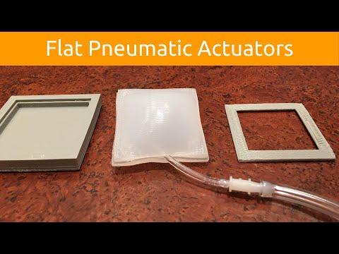 Flat Pneumatic Actuators